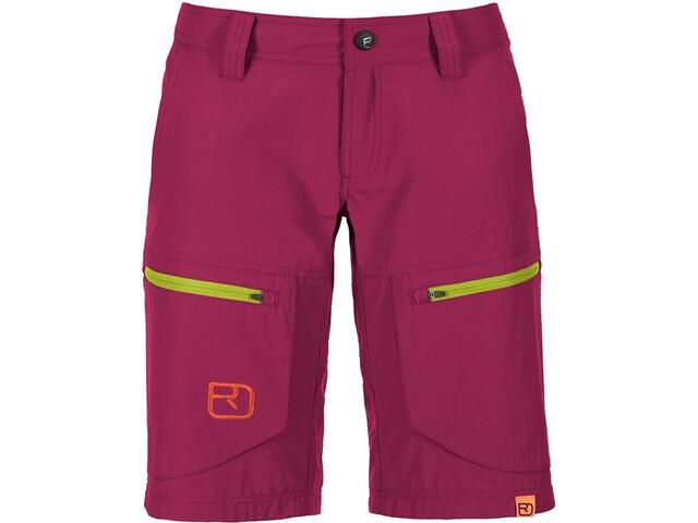 af07c532 Ortovox W's Vintage Cargo Shorts (MI) Dark Very Berry   Gode tilbud ...